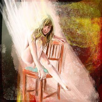 danielle 4 sensual artwork by artist nick kozis