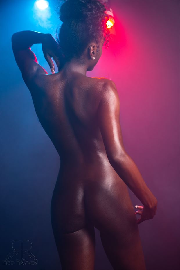 danielle artistic nude photo by photographer red rayven
