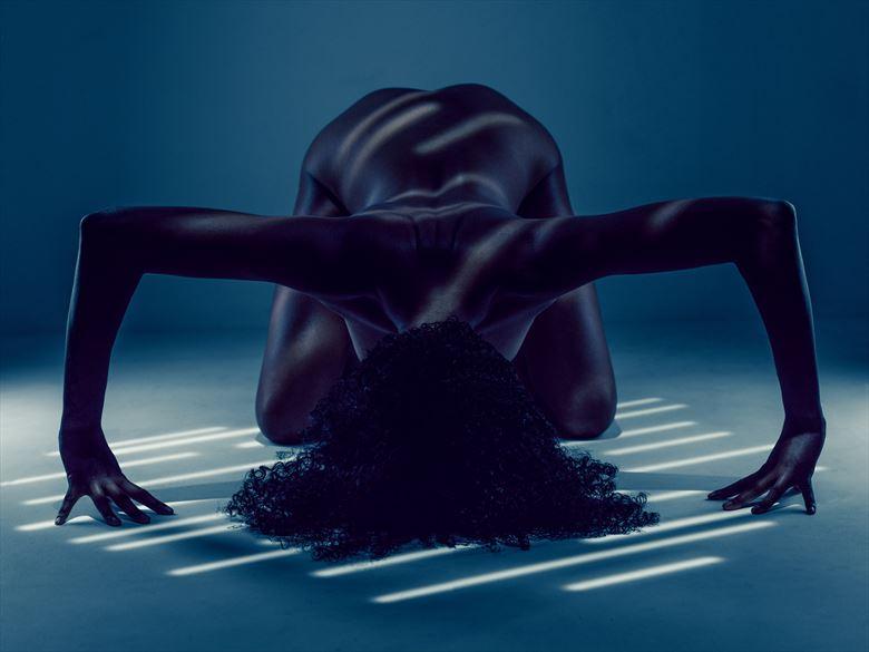 dappled light artistic nude photo by photographer robhillphoto