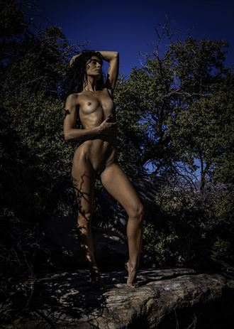 dark chey artistic nude photo by photographer art of lv
