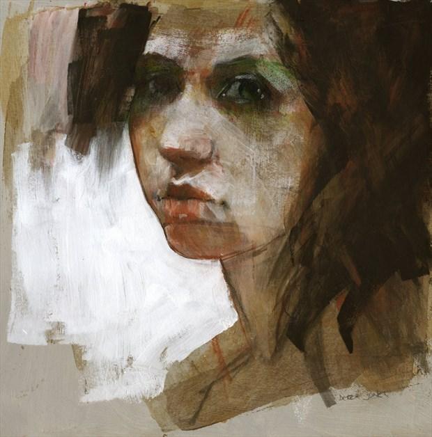 dark eyes Painting or Drawing Artwork by Artist JonD