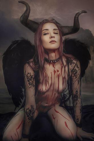 dark star erotic artwork by artist todd f jerde