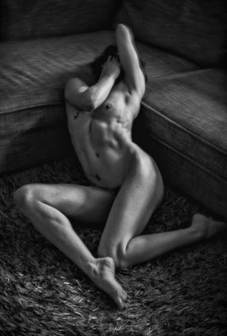 darkness in my world artistic nude photo by photographer serenesunrise
