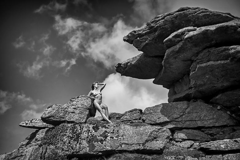 dartmoor artistic nude photo by model selkie