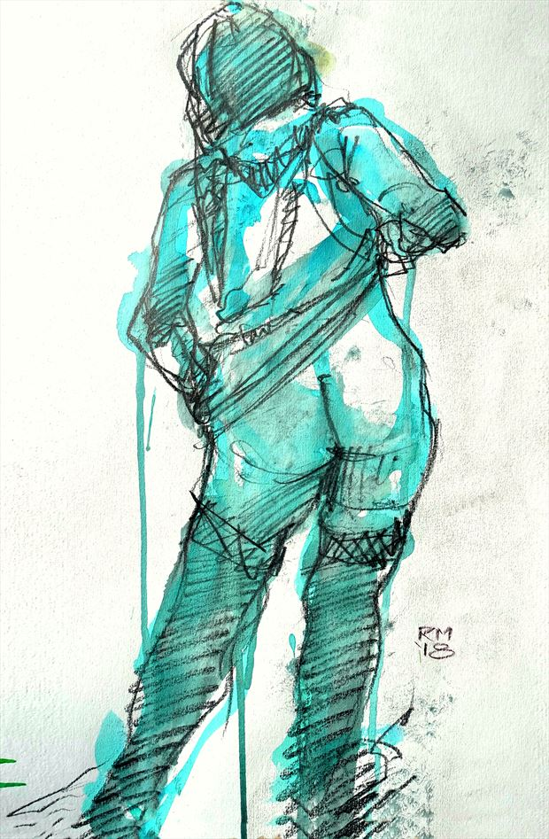 das kabarett lingerie artwork by artist rob macgillivray