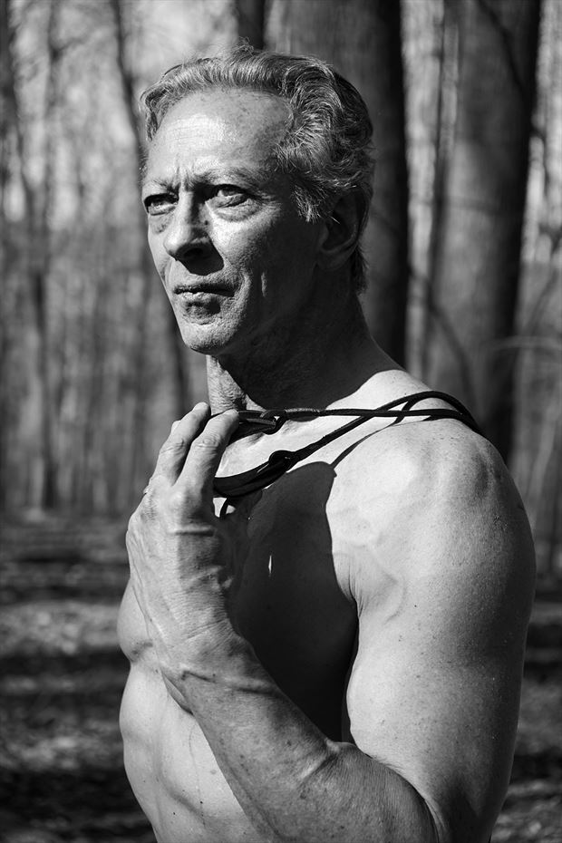 david the sling expressive portrait photo by model artfitnessmodel