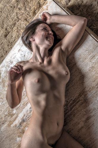 davina responds to scoobi artistic nude photo by photographer rick jolson