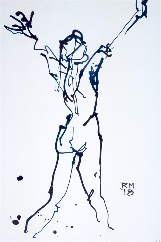 daybreak artistic nude artwork by artist rob macgillivray