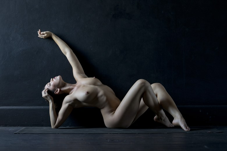 daydreaming artistic nude artwork by photographer alan h bruce