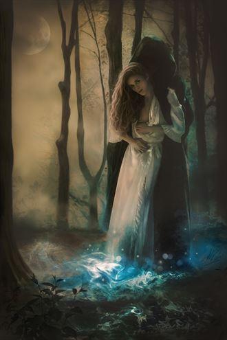 death s loving embrace fantasy artwork by artist todd f jerde
