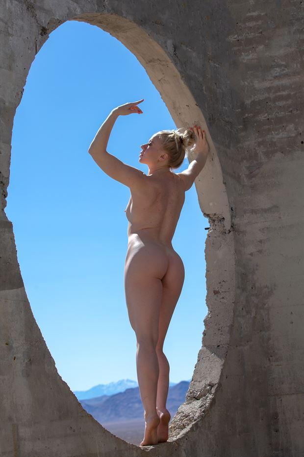 death valley artistic nude photo by artist april alston mckay