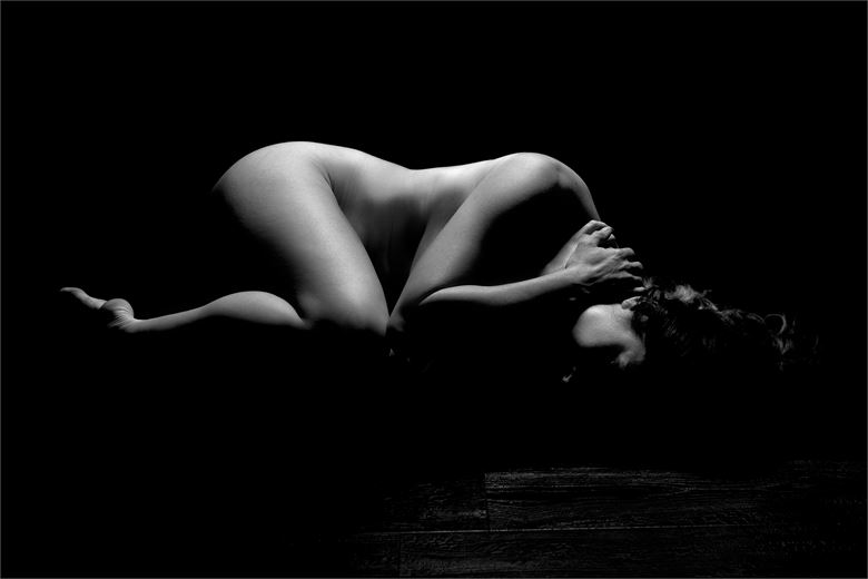 debbie bodyscape artistic nude photo by photographer dave belsham