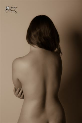 deep in thought artistic nude photo by photographer scottymac