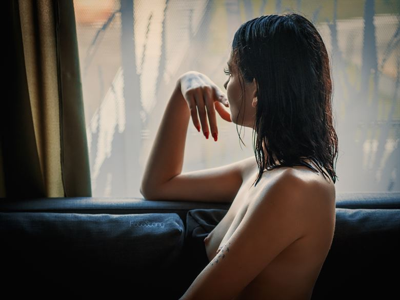 deep in thought sensual photo by photographer oliwier r