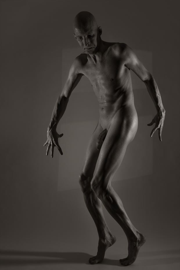 defined artistic nude photo by model lars