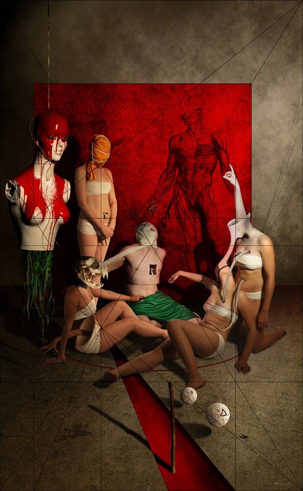 delta entr%C3%B3pica Surreal Artwork by Artist pierre fudaryl%C3%AD
