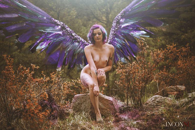 demons fury artistic nude artwork by model elizabeth lee