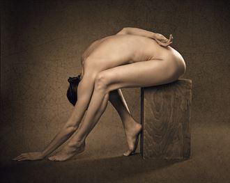 denisa artistic nude photo by photographer richard byrne