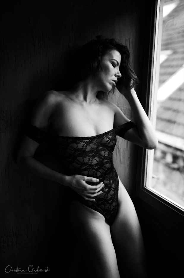 denisa sensual photo by photographer christian gadomski
