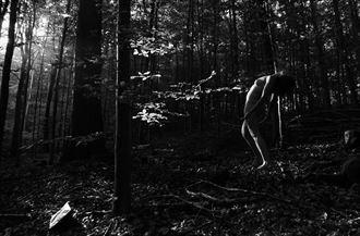 devotion artistic nude photo by photographer lene damtoft