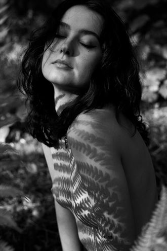 devotion ii artistic nude photo by photographer lene damtoft