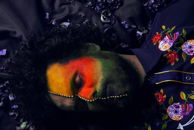 die to reborn surreal photo by model cosmopolitano