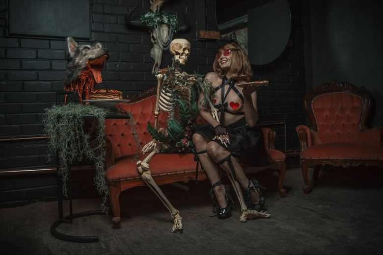 dining with the dead cosplay photo by photographer luj%C3%A9an burger