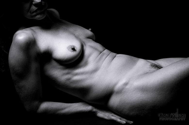 double spread artistic nude artwork by photographer borsalino