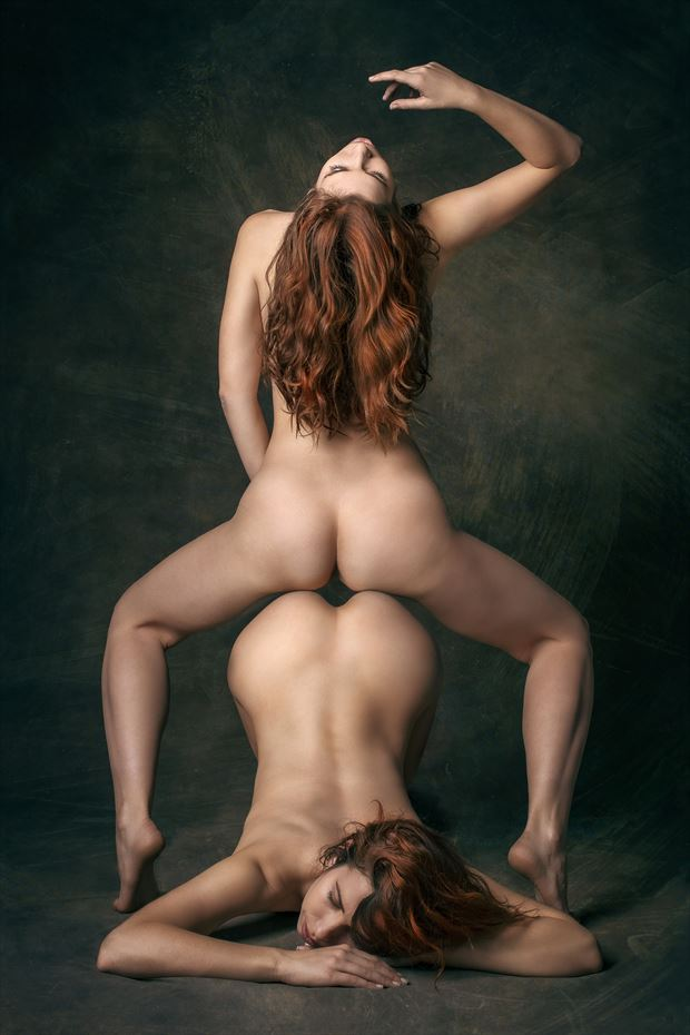 double trouble artistic nude photo by photographer fischer fine art