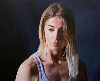 doubtful portrait artwork by artist bjornn