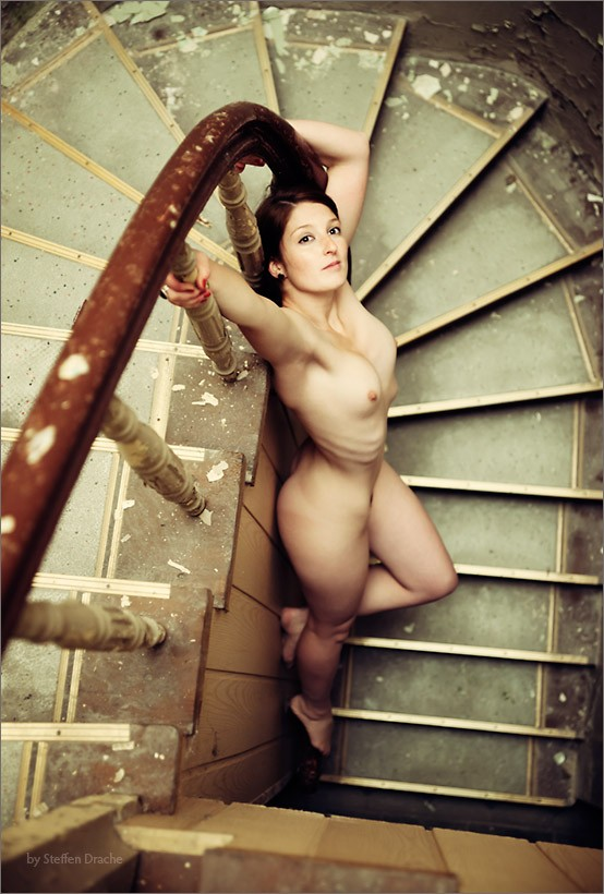 downstairs Artistic Nude Photo by Photographer drachenphoto