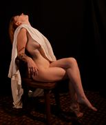 draped nude alyssa artistic nude photo by photographer fred scholpp photo
