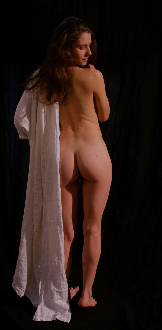 draped nude artistic nude photo by photographer fred scholpp photo