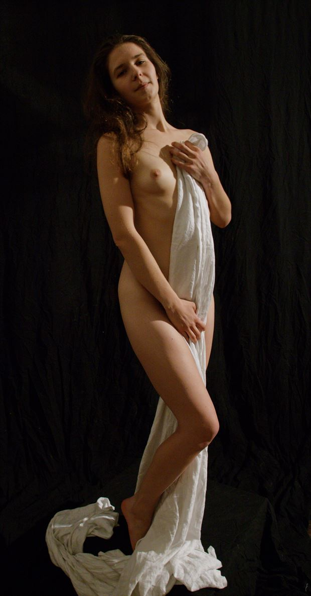 draped nude dani artistic nude photo by photographer fred scholpp photo
