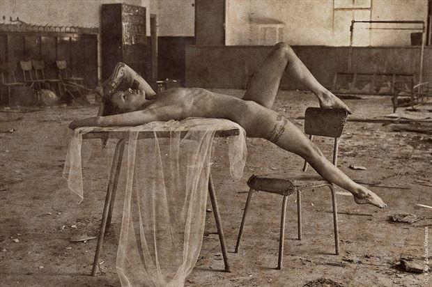 dream theater artistic nude artwork by artist kuti zoltan hermann