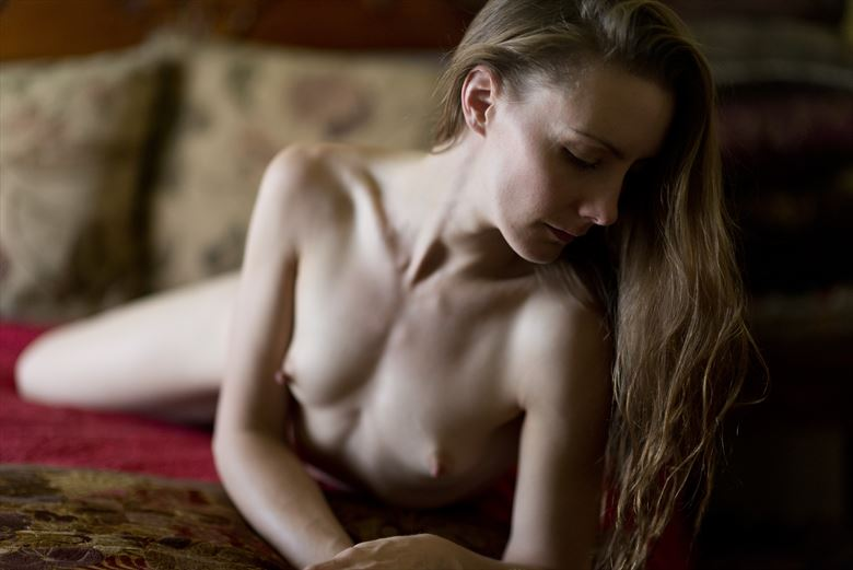 dreaming a dream artistic nude photo by photographer alan h bruce