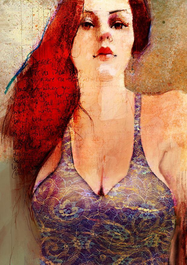 dress sensual artwork by artist jond