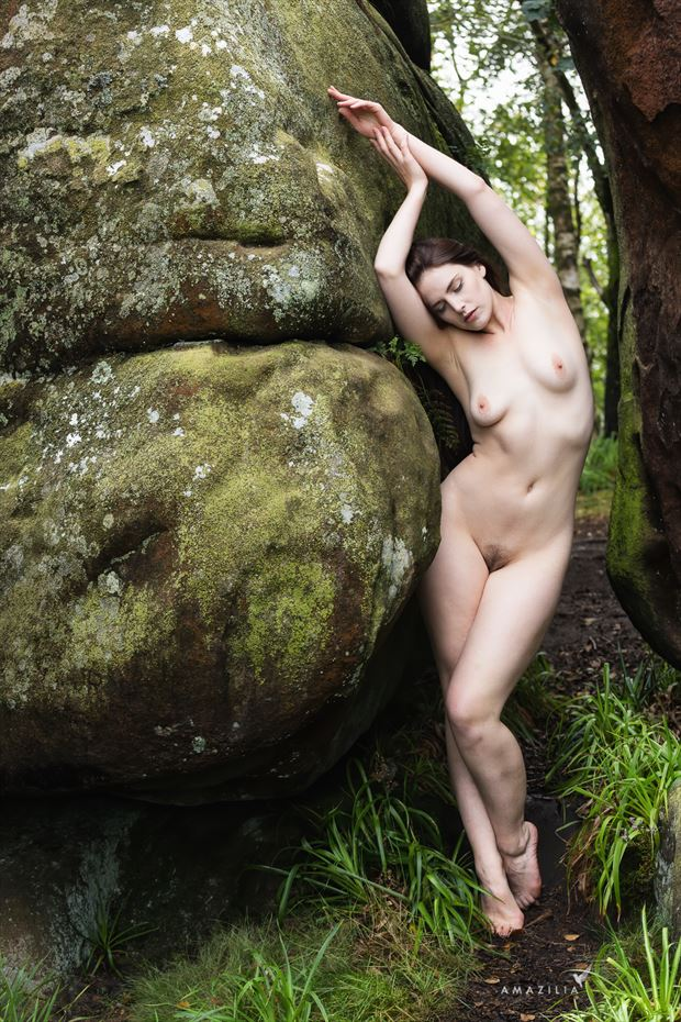 druid rocks artistic nude photo by photographer amazilia photography