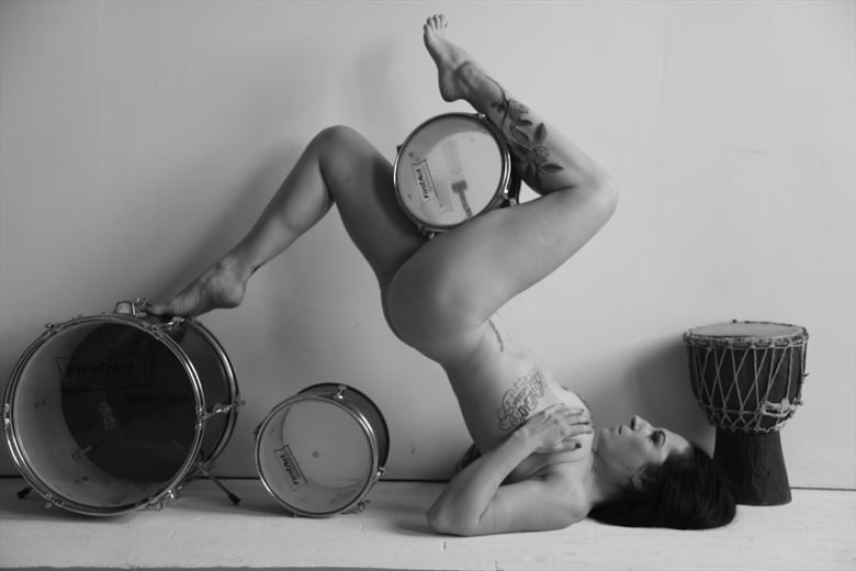 drums figure study photo by photographer werner lobert