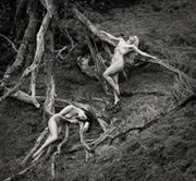 dryads in grief artistic nude photo by photographer john mcnairn