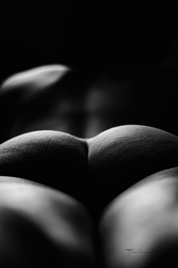 dunes Artistic Nude Photo by Artist pierre fudaryl%C3%AD