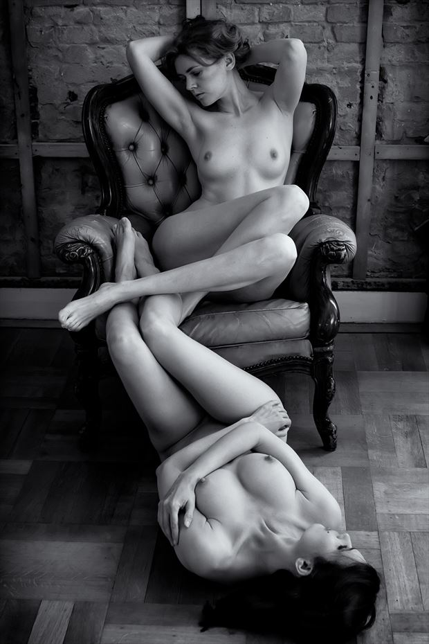 duo artistic nude photo by photographer benernst