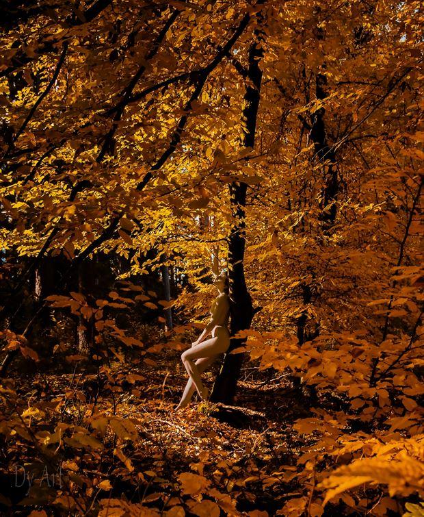 dy art artistic nude photo by model kupferhaut