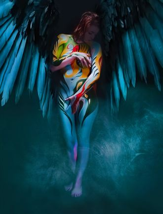 earth angel artistic nude photo by photographer bill milward
