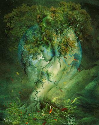 earth nature artwork by artist digital desires