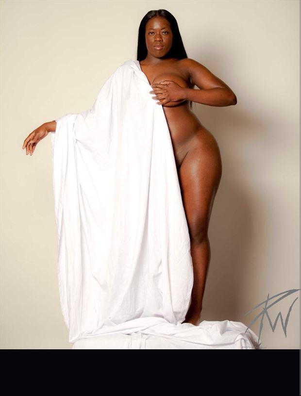 ebony goddess artistic nude photo by photographer pwphoto