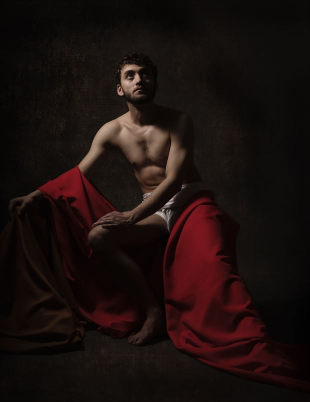 ece homo chiaroscuro artwork by photographer hruby