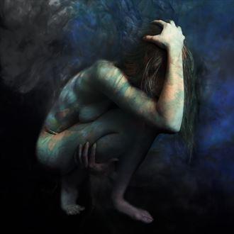 echo skin inks series artistic nude photo by photographer alancondrey