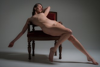 elaborate Artistic Nude Photo by Model Nelenu