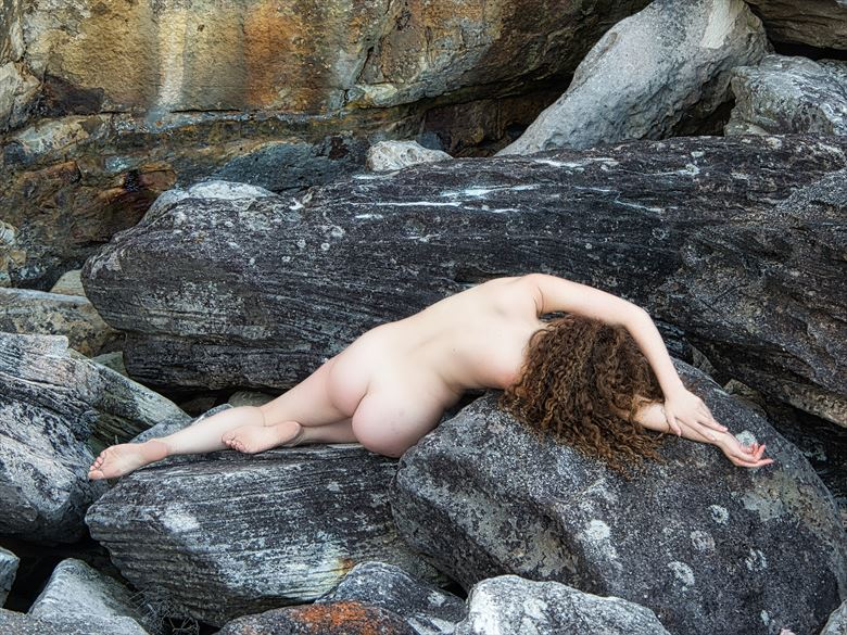 ella rose muse bodyscape on the landscape artistic nude photo by photographer pgl05